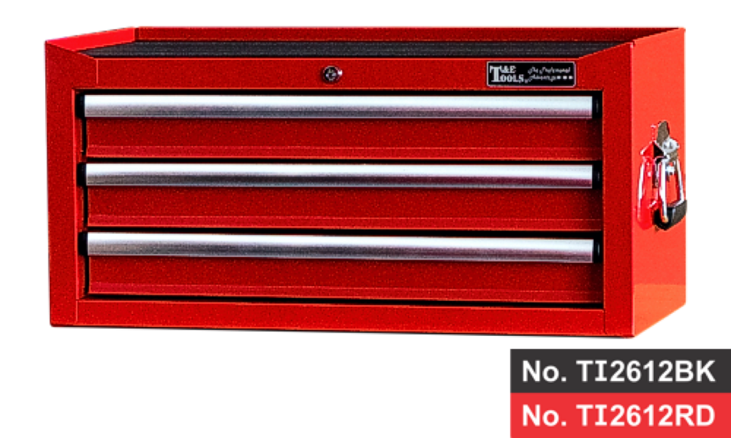 "26"" 3 Drawer Intermediate Chest- Red"