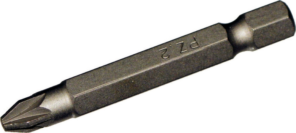 #2 Pozidriv 1/4 Inch Hex 50mm Long