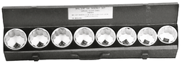 [159-95309] 9 Piece 3/4 Inch Drive SAE Socket Set