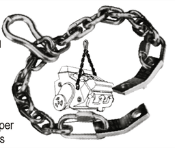 [159-4340] Engine Lifting Chain