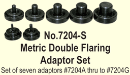 [159-7204-S] Metric Double Flare Adaptor Set