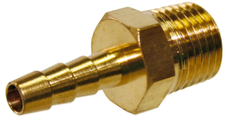 [159-XCH1008] (N)5/16 Inch Barbed Tail 1/4 Inch NPT Male