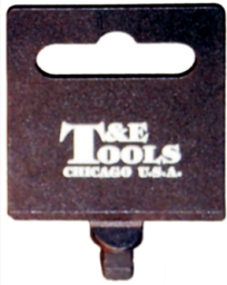 [159-HT12] Plastic Hang Tag 3/8 Inch Drive