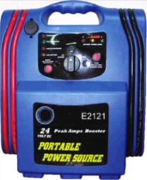 [59E-E2121] Portable Power Station (12 Volt / 24 Volt)