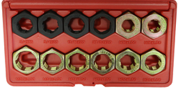 [159-6011] 12 Piece Axle Spindle Rethreading Set