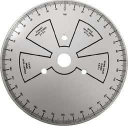 [159-4096] Tdc Timing Degree Wheel