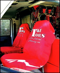 [59E-SC100] T&E Red Seat Cover