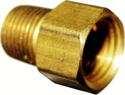 [159-12204] 1/4 Inch Inverted Flare Female 1/8 Inch Male NPT