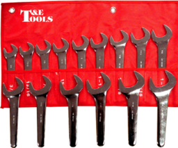 [159-99215M] 15 Piece Metric Open End Service Wrench Set 20-36mm