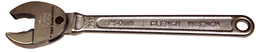 [159-W140] 10 Inch Adjustable Clench Wrench