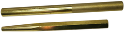 [159-8936] 2 Piece Brass Taper & Straight Punch Set