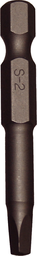 [159-30342] #2 Robinson Square 1/4 Inch Hex Bit 50mm Long
