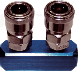 [159-MK1312A] 2 Way Air Coupler