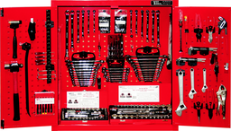 [159-9425] 303 Piece SAE/Metric Wall Cabinet Tool Set