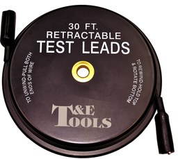 [159-3345] 30ft (9145mm) Retractable Test Lead