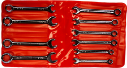 [159-5593] 10 Piece SAE Comb Mini Wrench Set