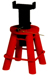[159-JS010A] 10 Ton Heavy Duty Jack Stand (9.1/2 Inch To 17 Inch ) Pin Type