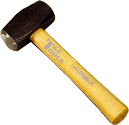 [159-7047] 3lb (1.4Kg.) Panel Beaters Club Hammer