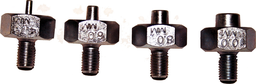 [159-7208-S] 4 Piece Iso Double Flare Adaptors