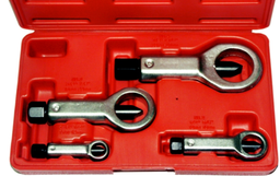[59E-8652] 4 Piece Nut Splitter Set 1/8 Inch To 1.1/16 Inch Capacity