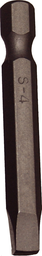[159-30344] #4 Robinson Square 1/4 Inch Hex Bit 50mm Long