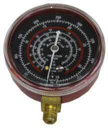 [159-AC901RED] 500 Psi Replacement Gauge For Ac901