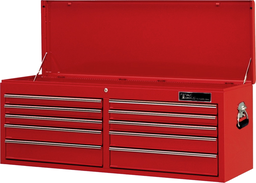 [159-TRX5210] 51 Inch 10 Drawer Roller Bearing Chest