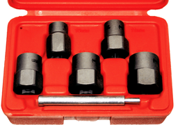 [159-T4257] 5 Piece 3/8 Inch Drive Twist Sockets 10 11 13 14 16mm (3/8 Inch .5/8 Inch )