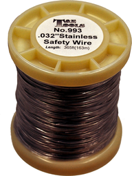 [159-993] .032 Inch 366 Ft Stainless Safety Wire