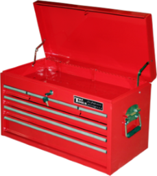 [159-TES600RB] 6 Drawer Roller Bearing Deep Top Chest