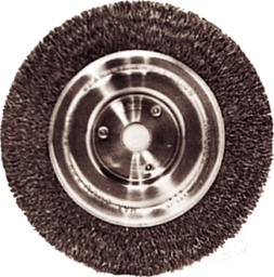 [159-1735] 6 Inch 1/2 Inch Narrow Face Wire Wheel
