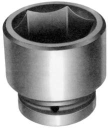 [159-77075] 75mm 1.1/2 Inch Drive 6 Point Standard Impact Socket