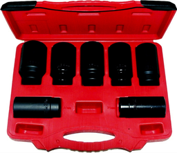 [159-6037] 7 Piece Fwd Axle Nut Deep Socket Set