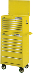 [159-TRX1808SE] 8 Drawer Ball Bearing Chest Yellow With Black