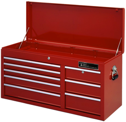 [159-TES1408] 8 Drawer Premier Tool Cart Chest