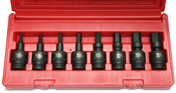 [159-97449] 8 Piece 1/2 Inch Drive Impact Universal In-Hex Socket Set 6-19mm.