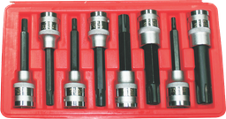 [159-5080] 8 Piece Ribe 1/2 Inch Drive Sockets M5- M16